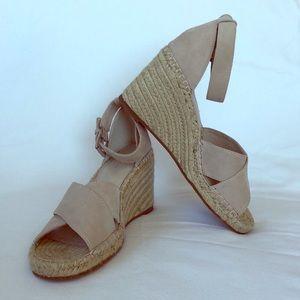 2e131373833 Caslon Shoes   Coral Suede Espadrille Sandals   Poshmark
